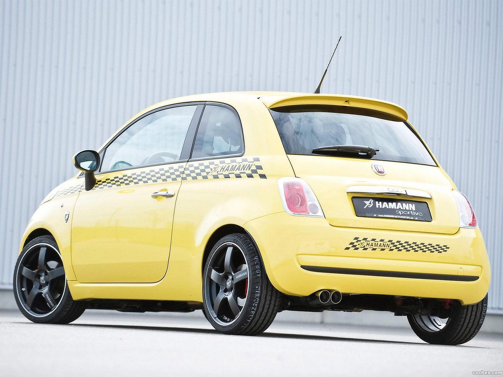 Foto 6 de Fiat Hamann 500 Sportivo 2008
