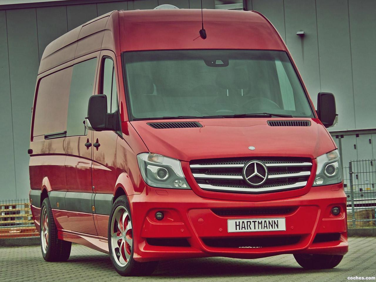 Foto 1 de Hartmann Mercedes Sprinter 319 CDI 2014