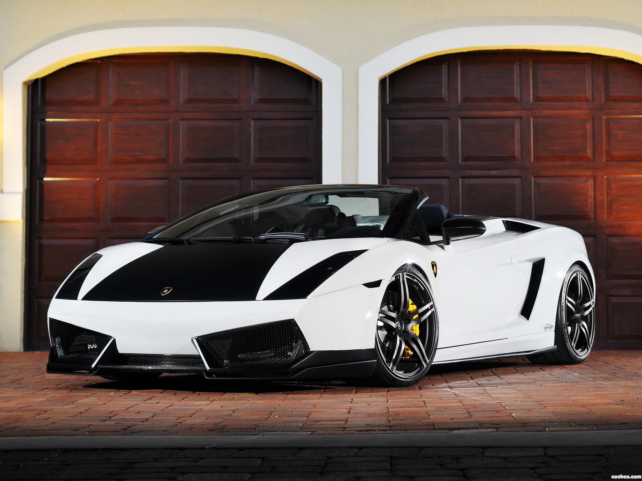 Foto 0 de Heffner Lamborghini Gallardo Spyder Twin Turbo 2011