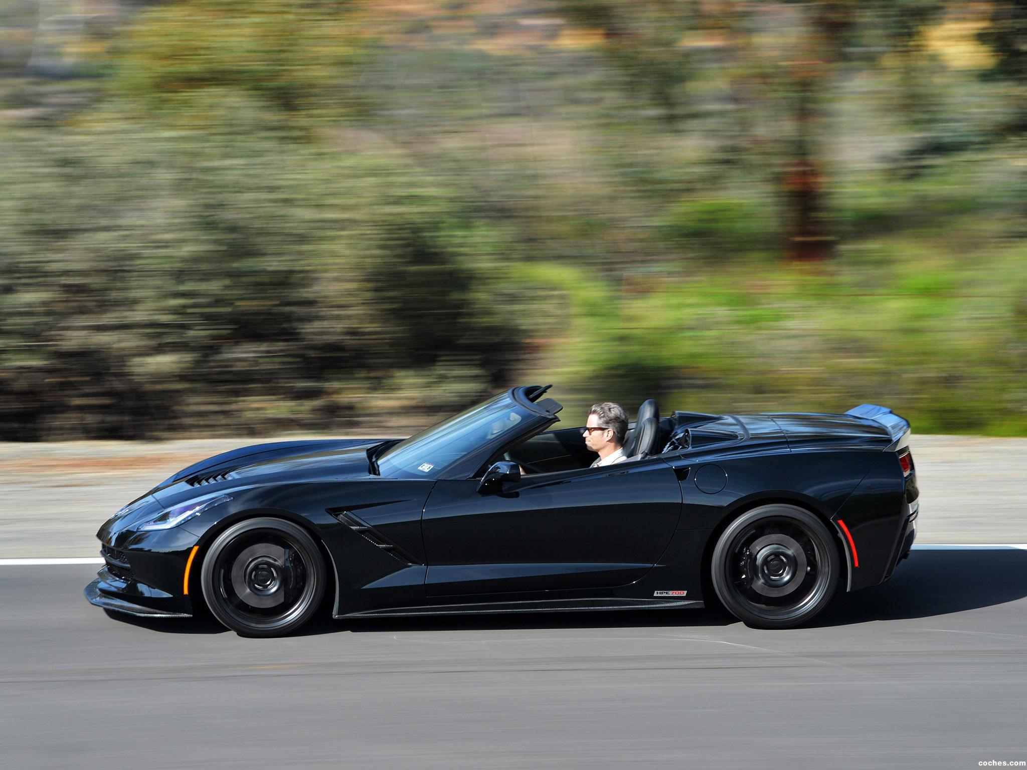 Foto 4 de Hennessey Chevrolet Corvette Stingray Convertible HPE700 Sup 2014