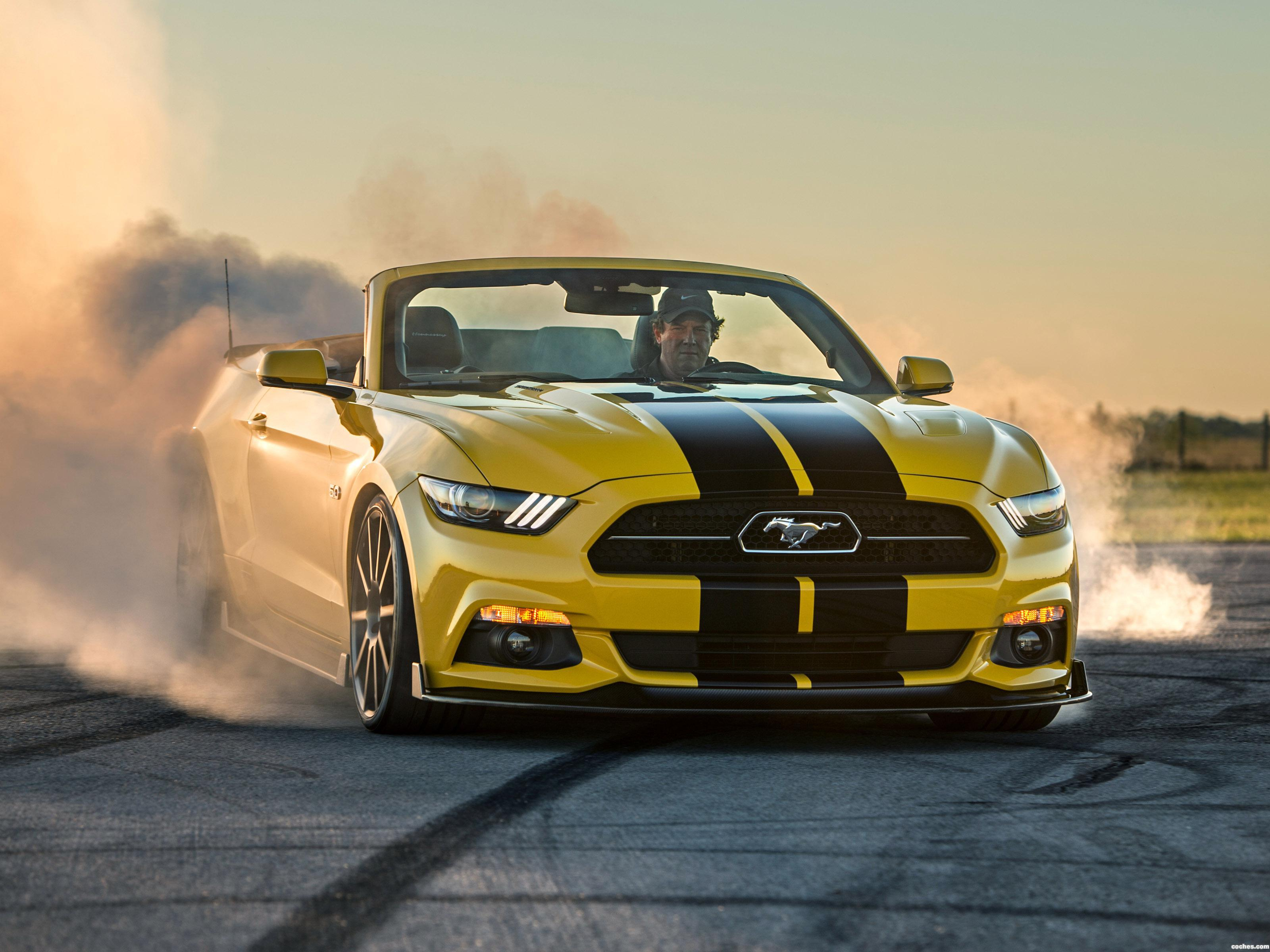 Foto 0 de Hennessey Performance Ford Mustang GT Convertible HPE750 2015