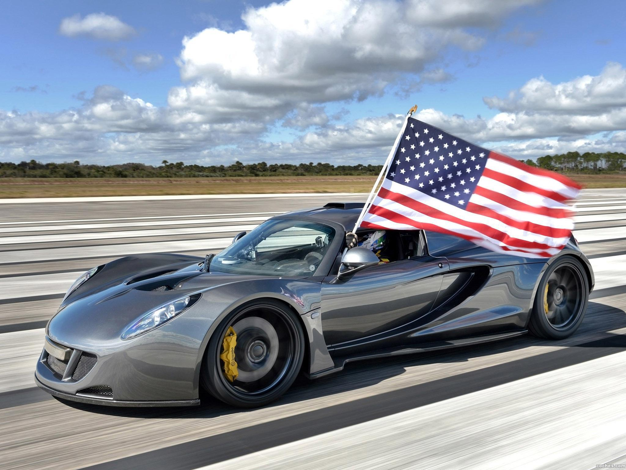 Foto 0 de Hennessey Performance Venom GT World Speed Record Car 2014