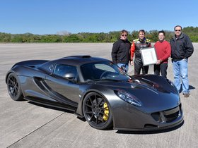 Ver foto 8 de Hennessey Performance Venom GT World Speed Record Car 2014