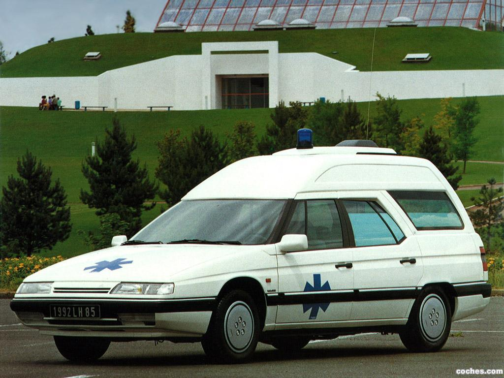 Foto 0 de Citroen Heuliez XM Break Ambulance 1991