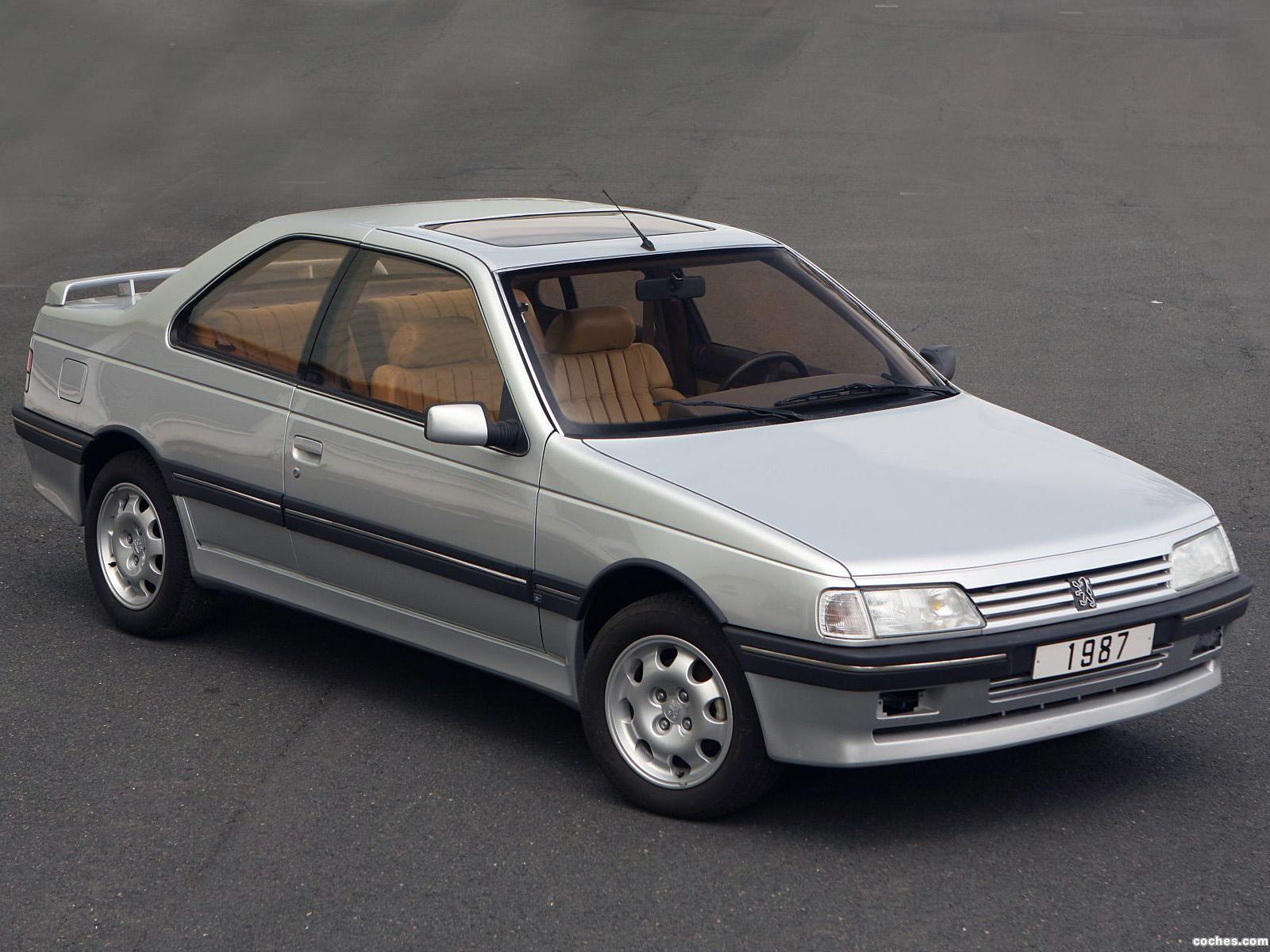 Foto 0 de Peugeot Heuliez 405 Coupe Concept 1988
