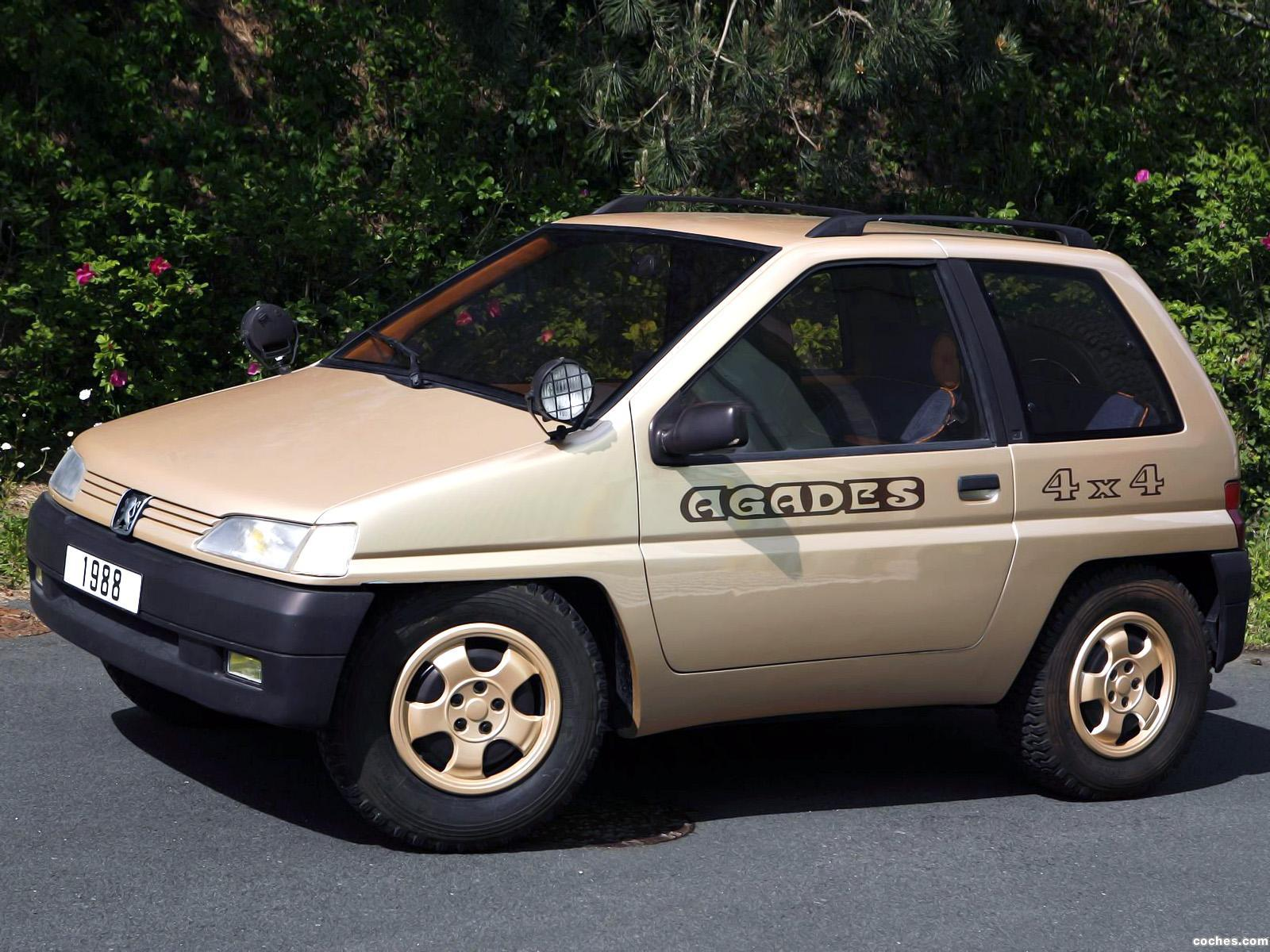 Foto 0 de Peugeot Heuliez 4x4 Agades Concept 1989