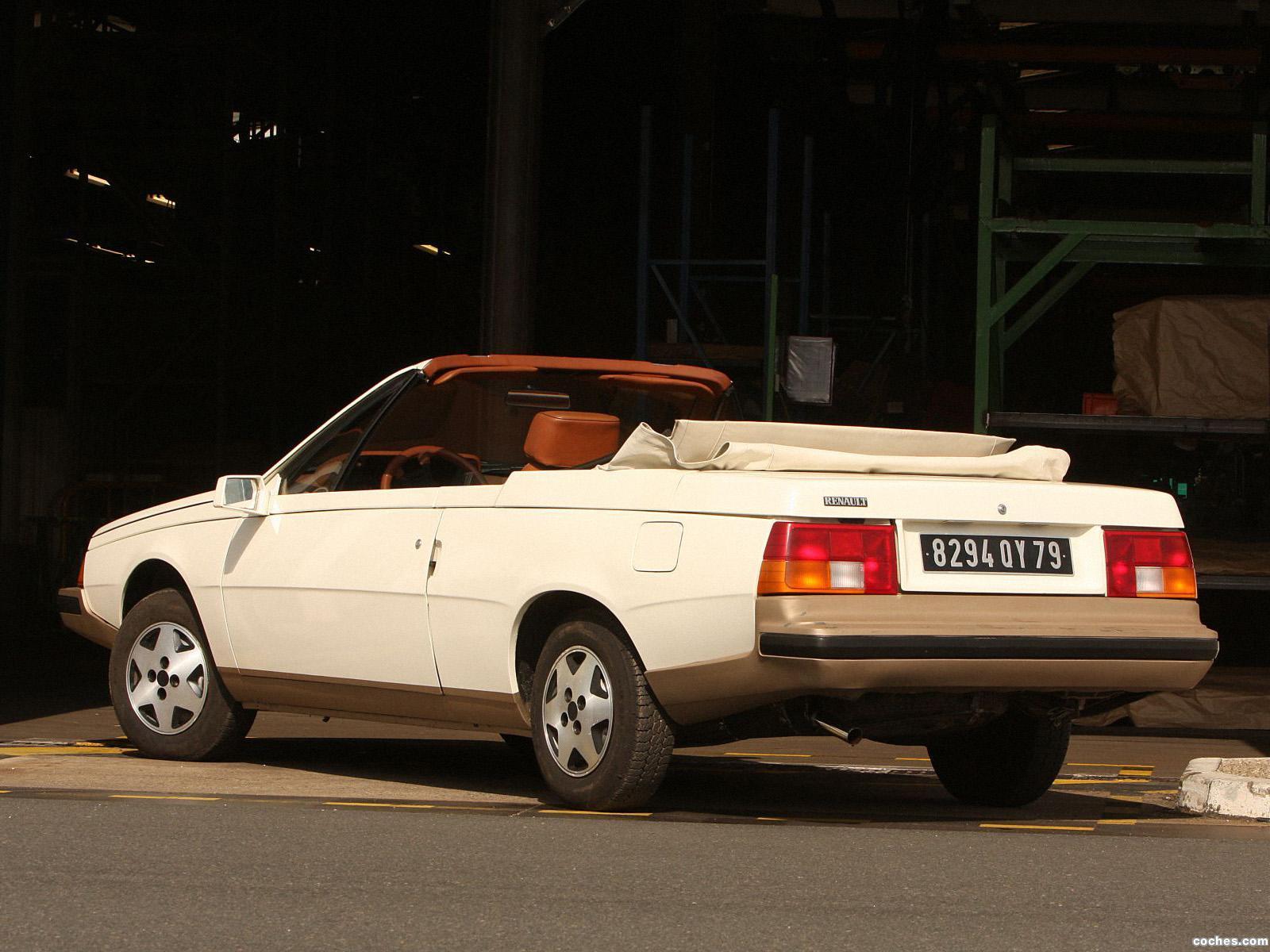 Foto 1 de Renault Heuliez Fuego Cabriolet Concept 1982