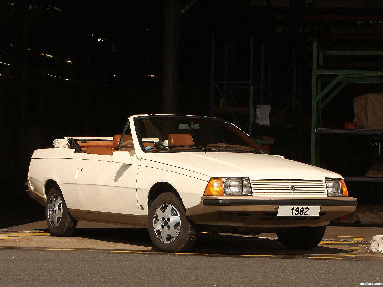Foto 0 de Renault Heuliez Fuego Cabriolet Concept 1982