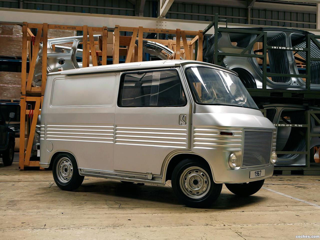 Foto 0 de Simca Heuliez 1100 Prototype Fourgon Commercial 1967