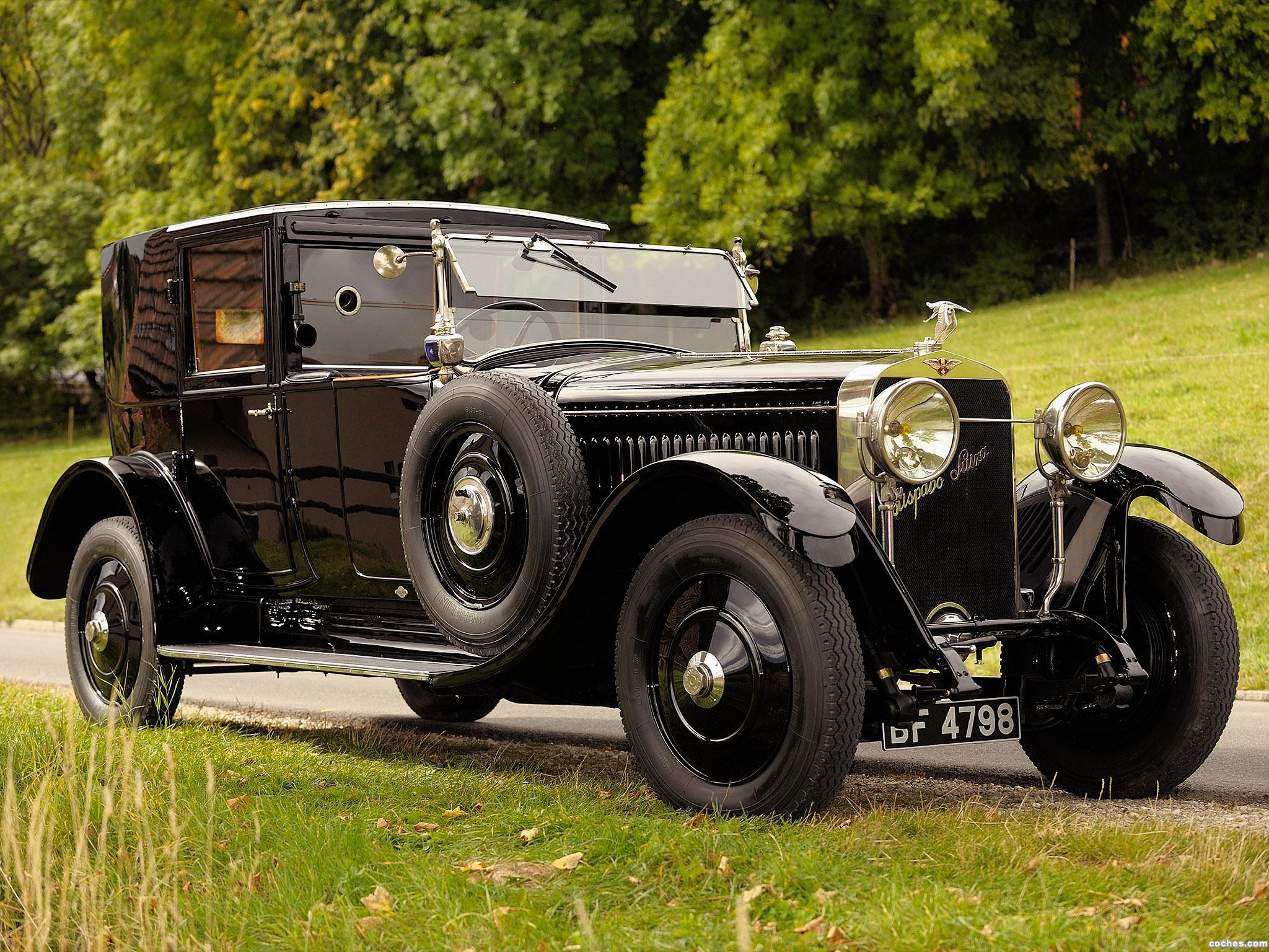 Foto 0 de Hispano-Suiza H6B Coupe De Ville by Kellner 1924