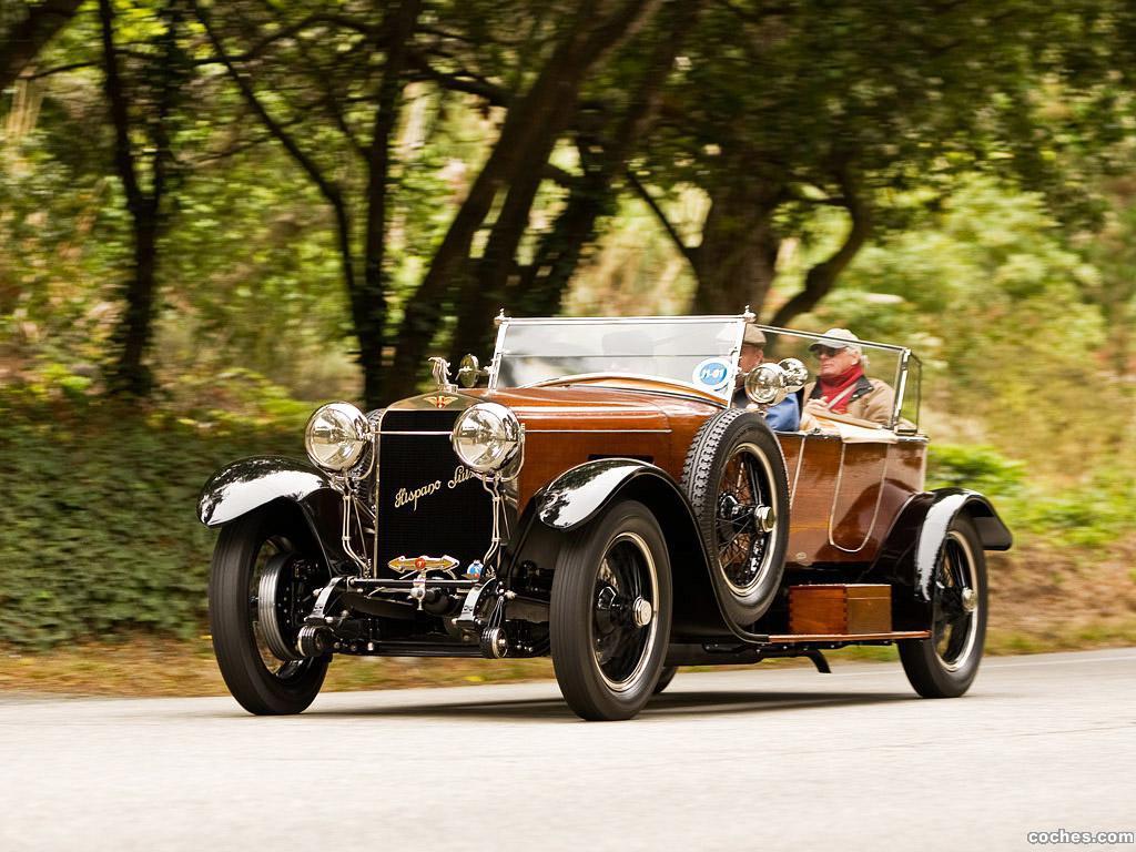 Foto 0 de Hispano-Suiza H6B Labourdette Skiff 1922
