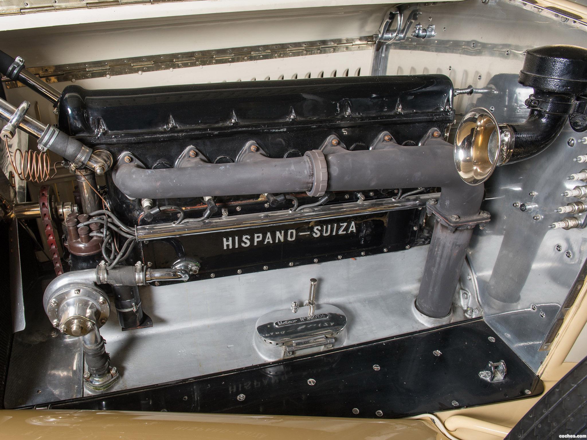 Foto 6 de Hispano Suiza H6C Convertible Sedan by Hibbard and Darrin 1928