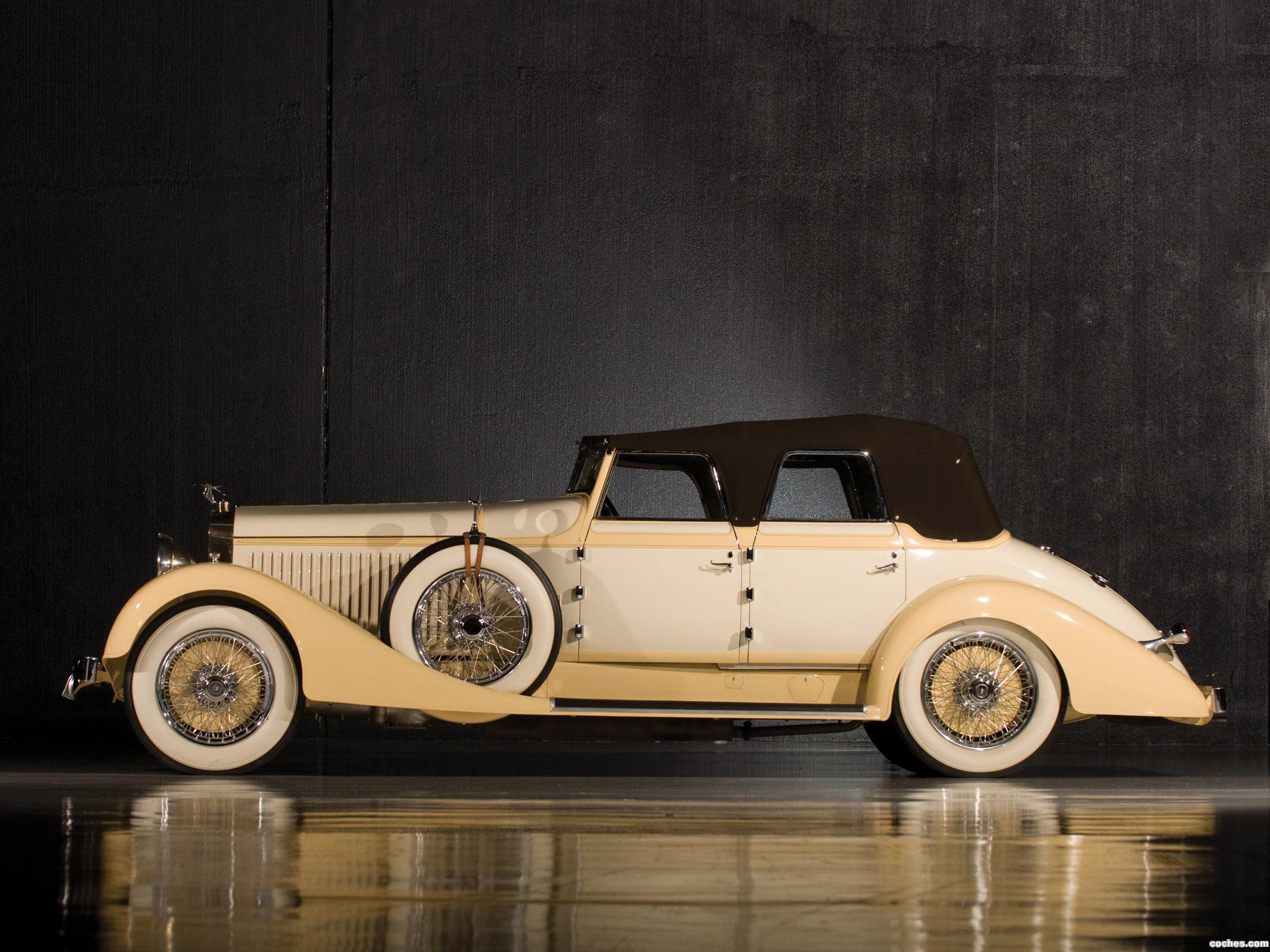 Foto 4 de Hispano Suiza H6C Convertible Sedan by Hibbard and Darrin 1928