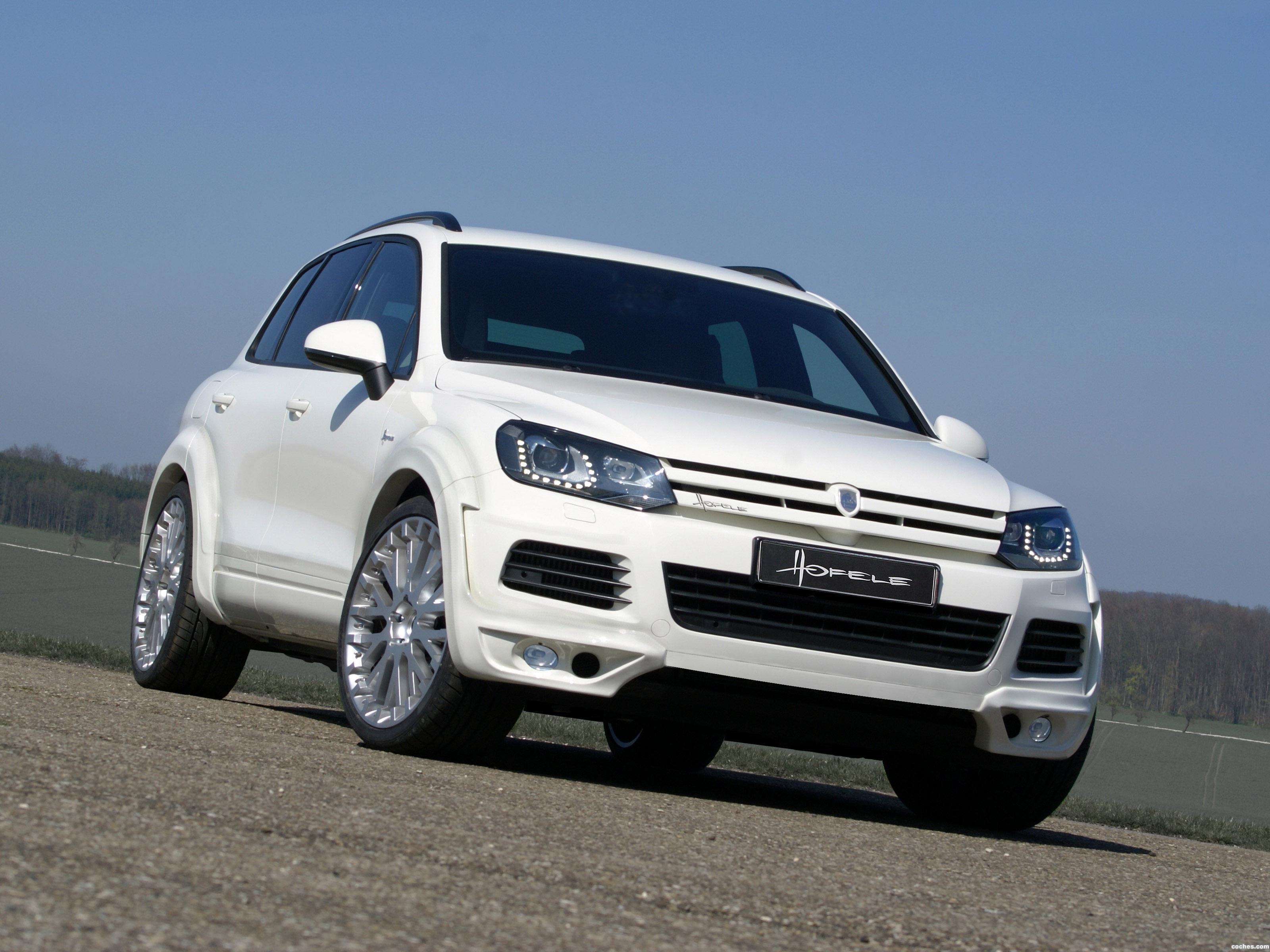 Foto 0 de Hofele Design Volkswagen Touareg V6 TDI BlueMotion 2014