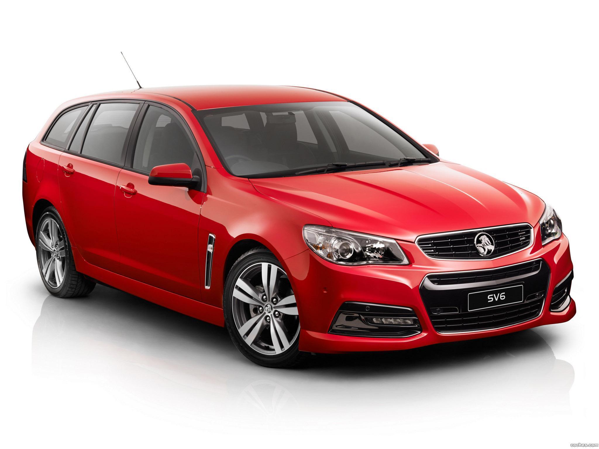 Foto 0 de Holden Commodore SV6 Sportwagon 2013