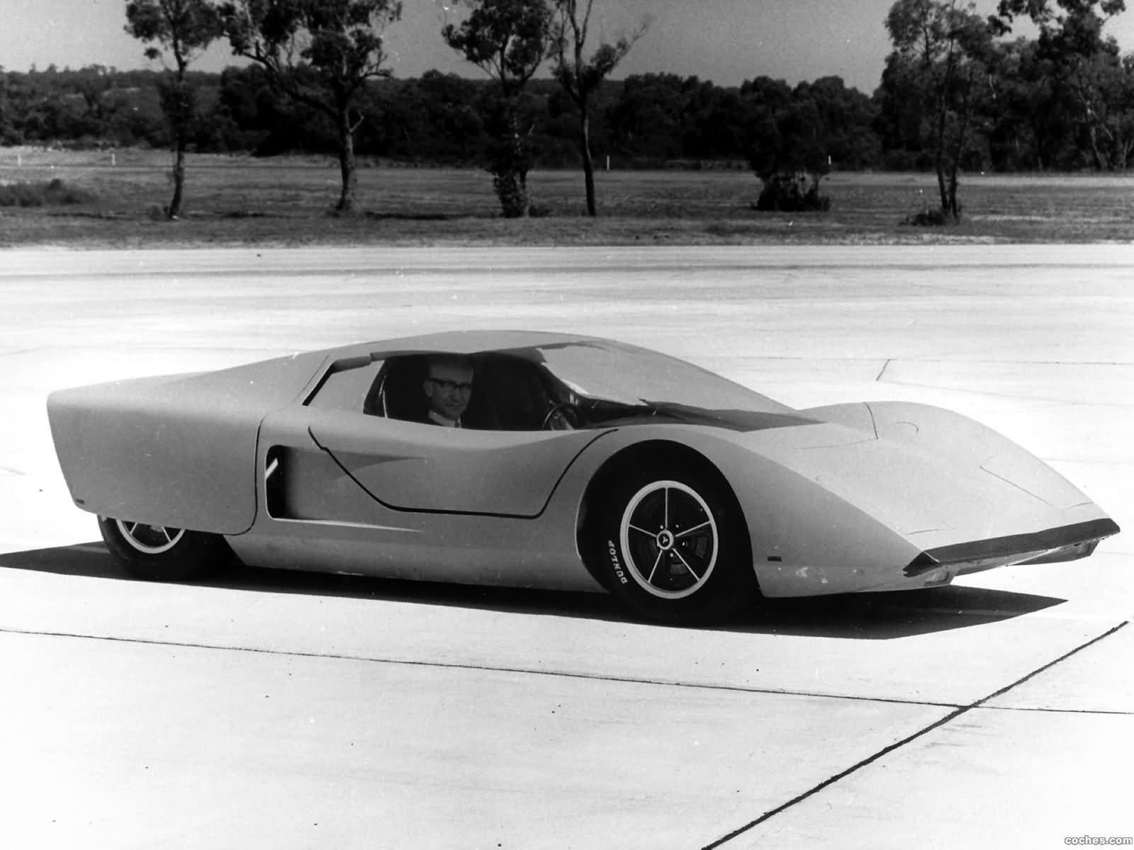 Foto 1 de Holden Hurricane Concept Car 1969