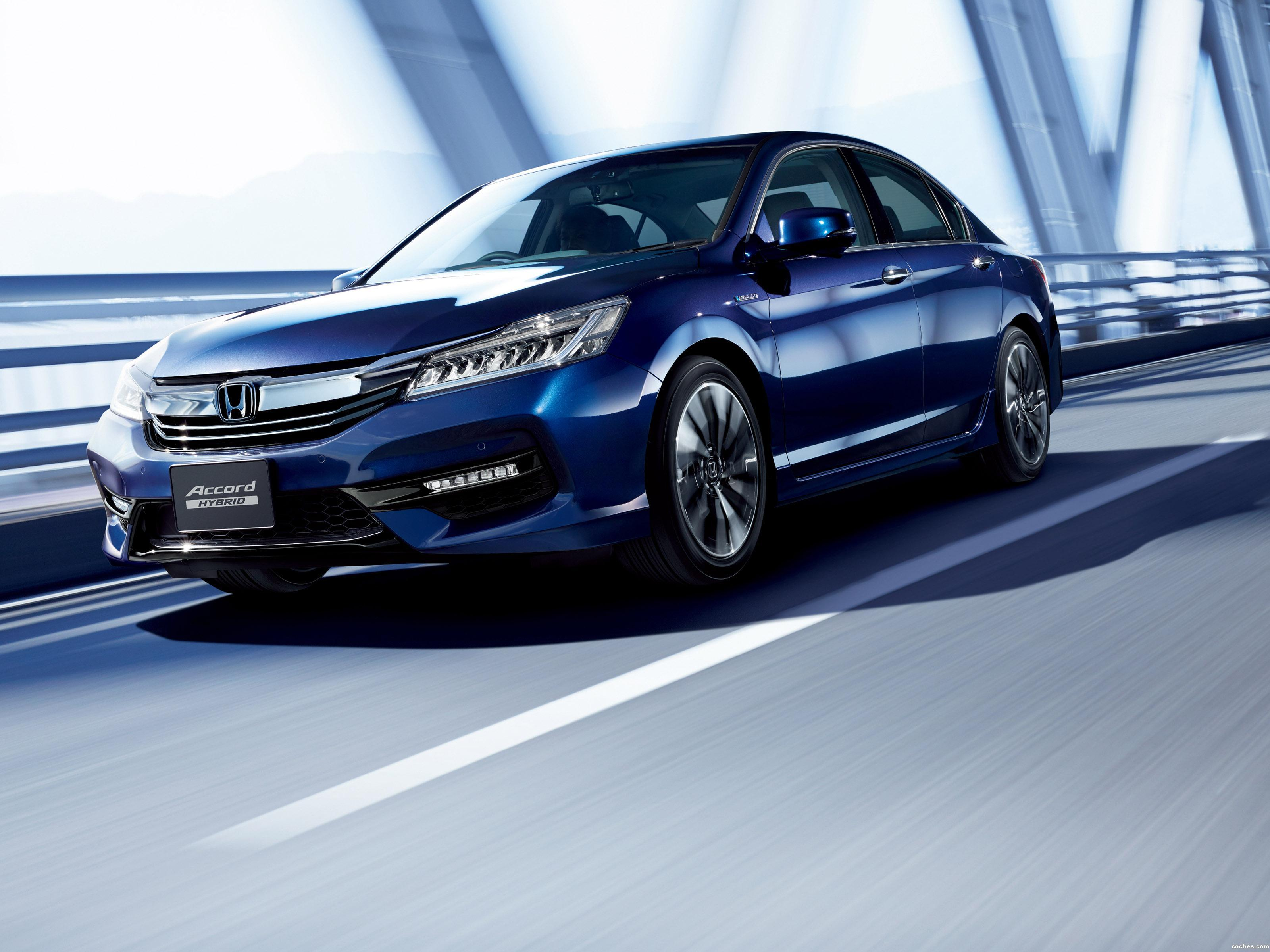Foto 0 de Honda Accord Hybrid Japan 2016