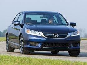 Ver foto 1 de Honda Accord Hybrid USA 2013