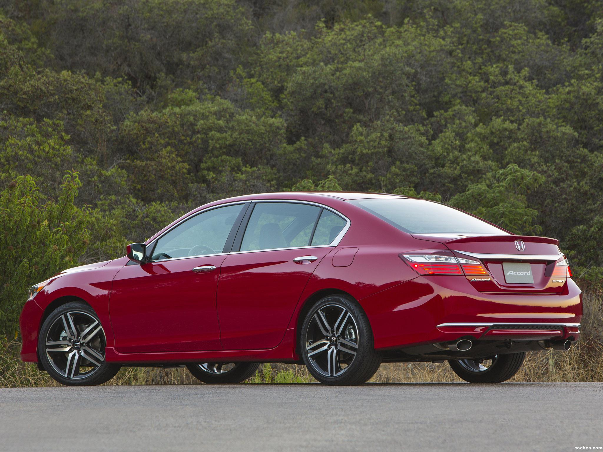 Foto 3 de Honda Accord Sport USA 2015