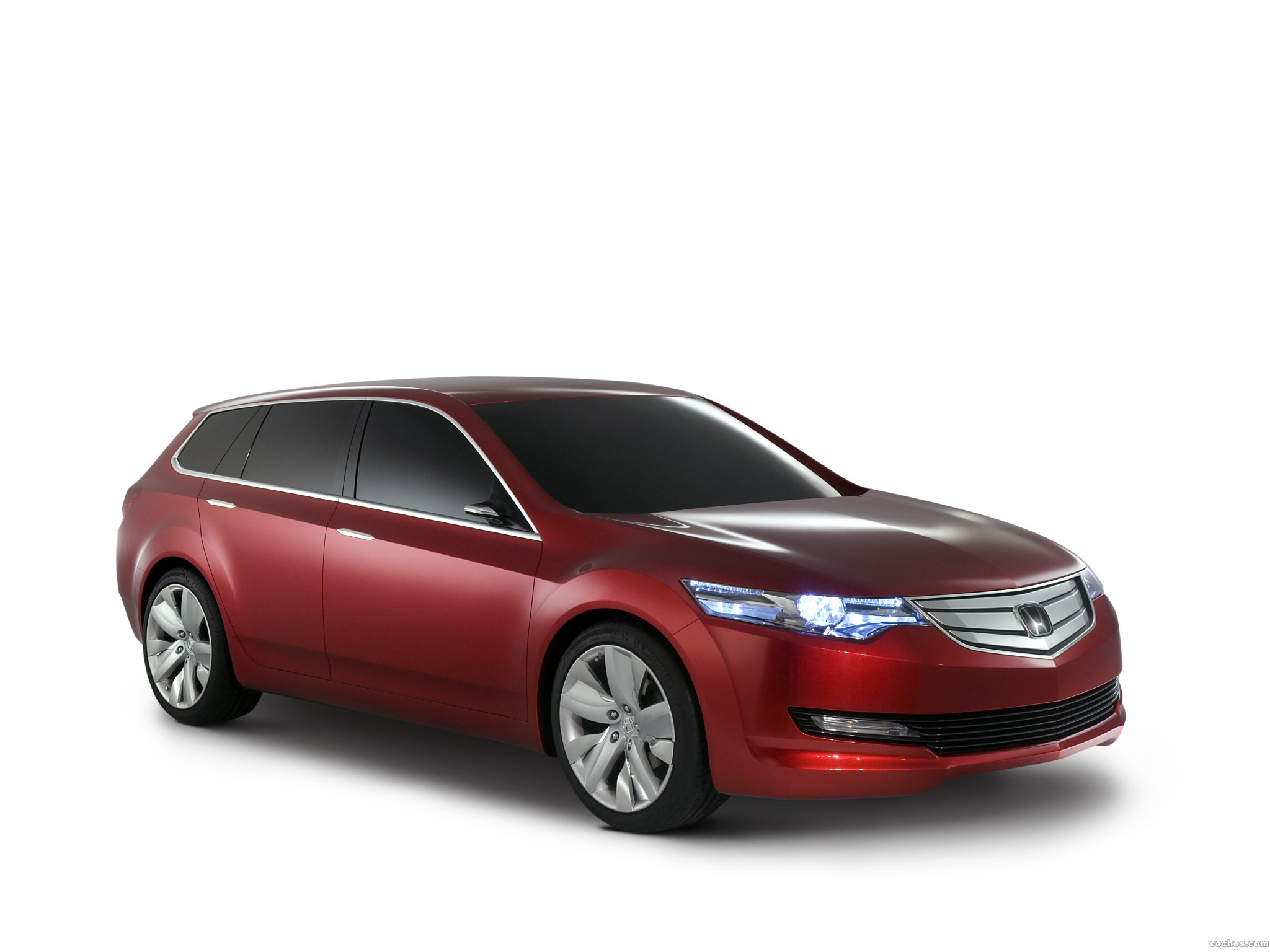 Foto 0 de Honda Accord Tourer Concept 2007