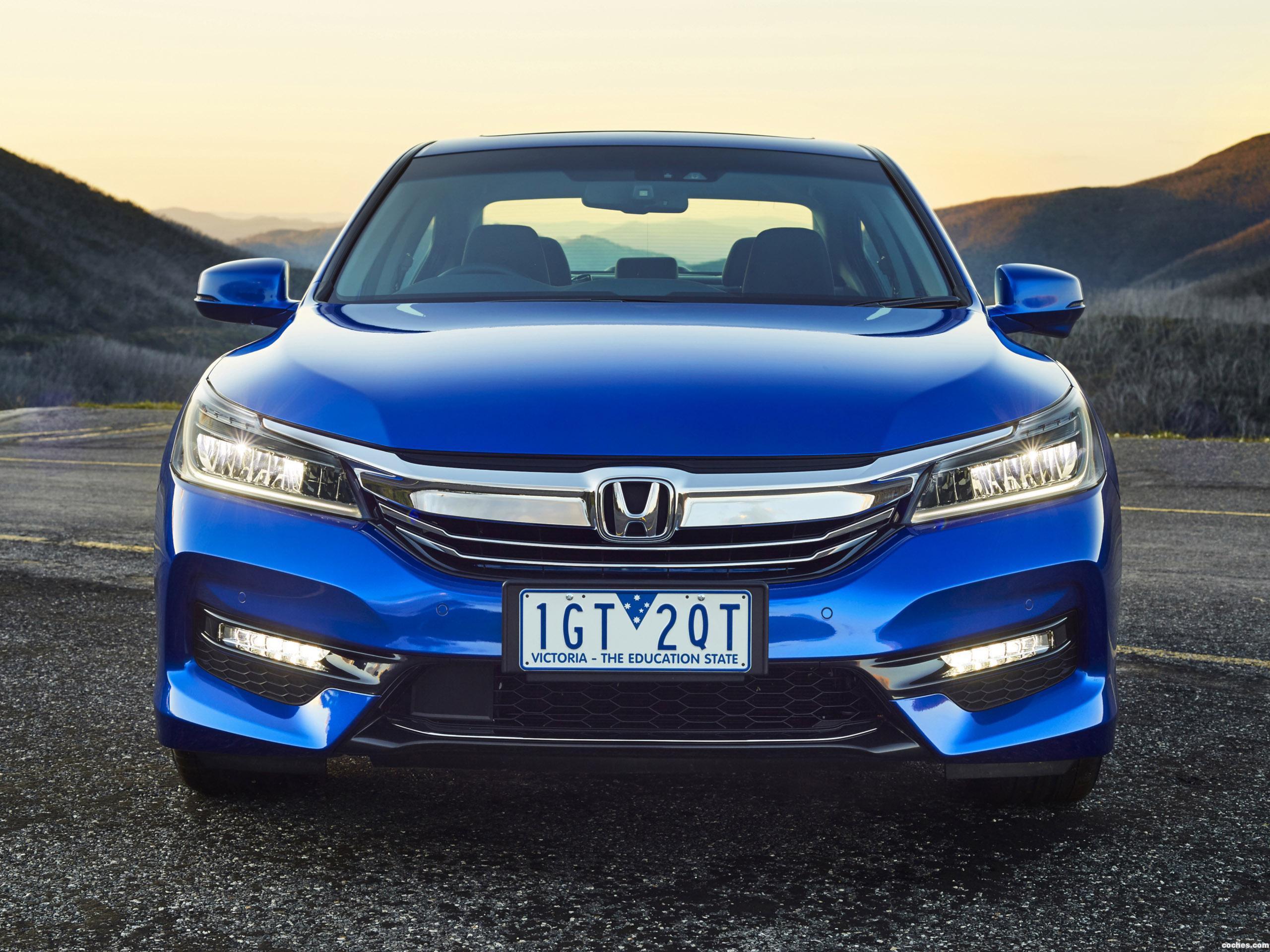 Foto 1 de Honda Accord V6 Sedan Australia 2016