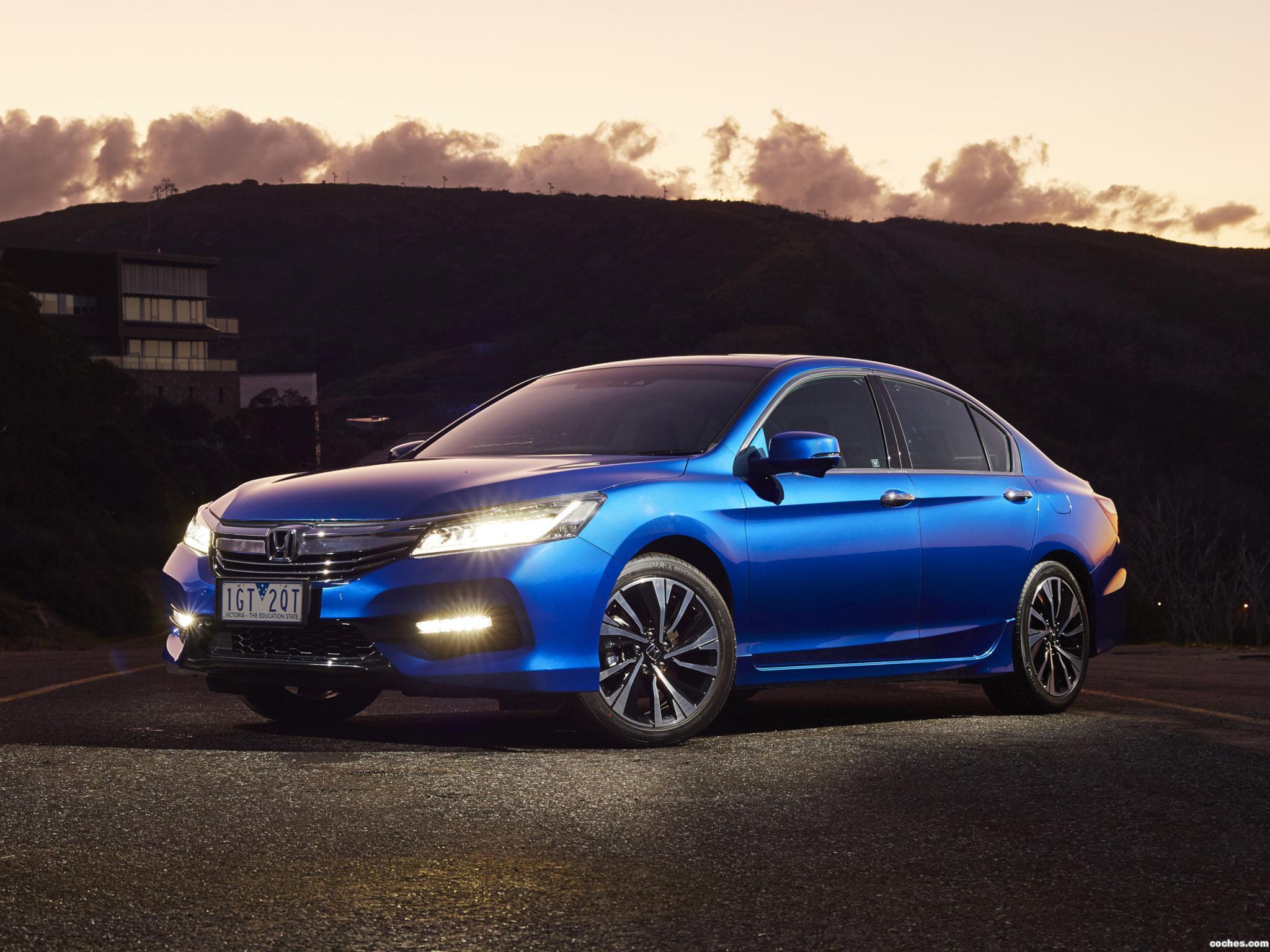 Foto 9 de Honda Accord V6 Sedan Australia 2016