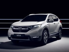 Ver foto 4 de Honda CR-V Hybrid Prototype 2017