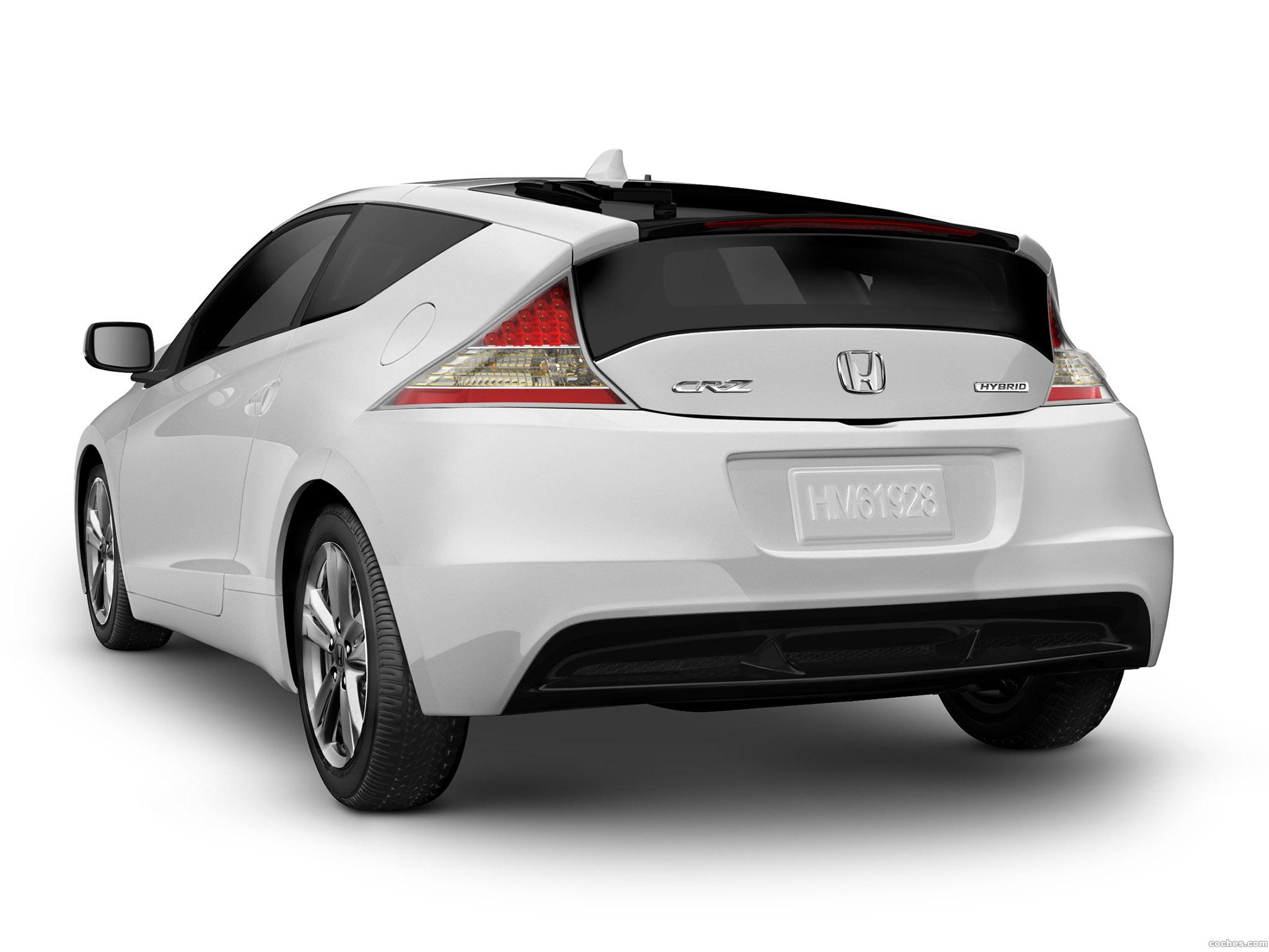 Foto 2 de Honda CR-Z Sport Hybrid Coupe 2010