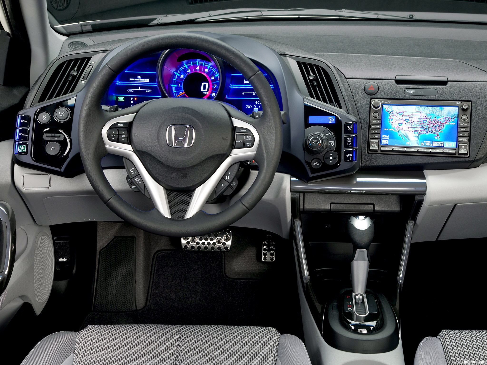 Foto 10 de Honda CR-Z Sport Hybrid Coupe 2010
