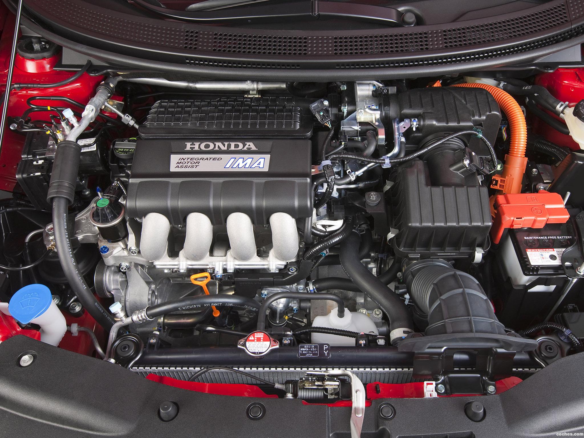 Foto 8 de Honda CR-Z Sport Hybrid Coupe 2010