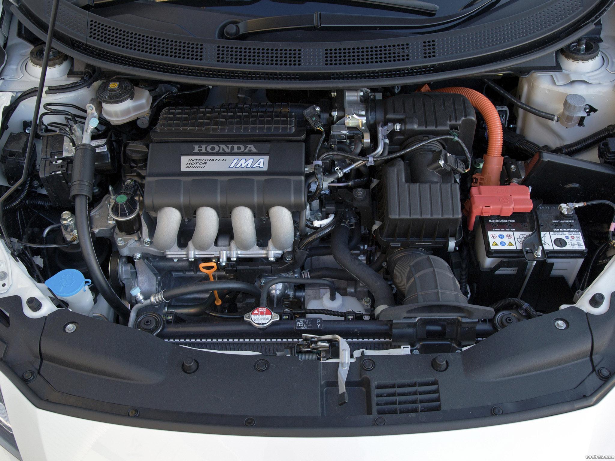 Foto 19 de Honda CR-Z Sport Hybrid Coupe 2010