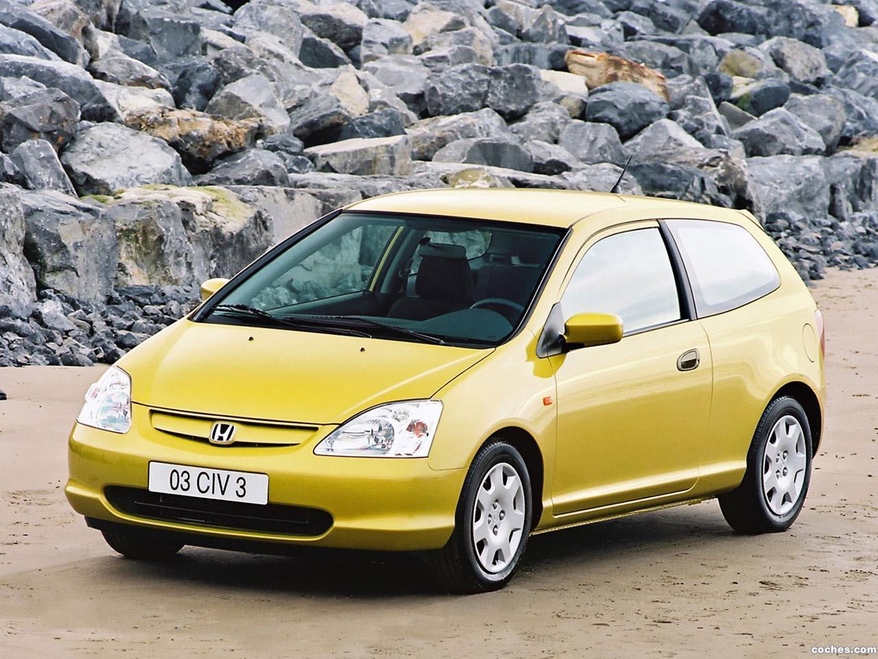 Foto 0 de Honda Civic 3 puertas 2001