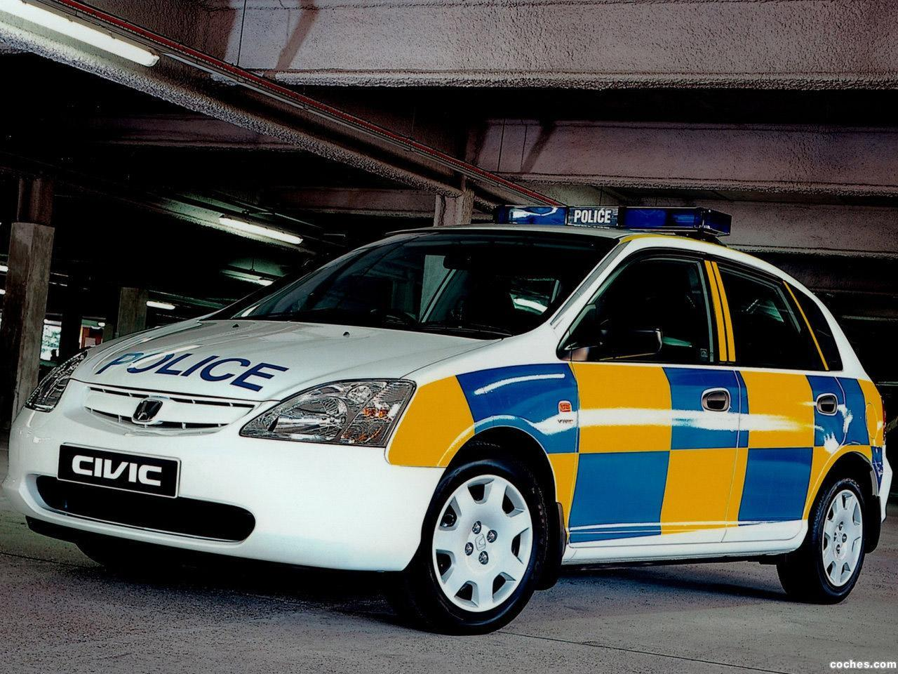 Foto 0 de Honda Civic 5 door Police 2001