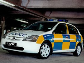 Ver foto 1 de Honda Civic 5 door Police 2001