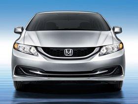 Ver foto 3 de Honda Civic CNG USA 2013