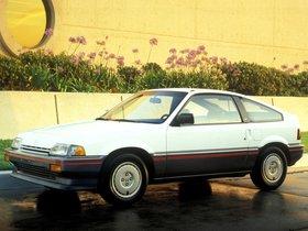 Fotos de Honda Civic CRX 1986
