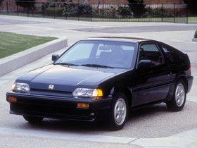 Fotos de Honda Civic CRX SI 1986