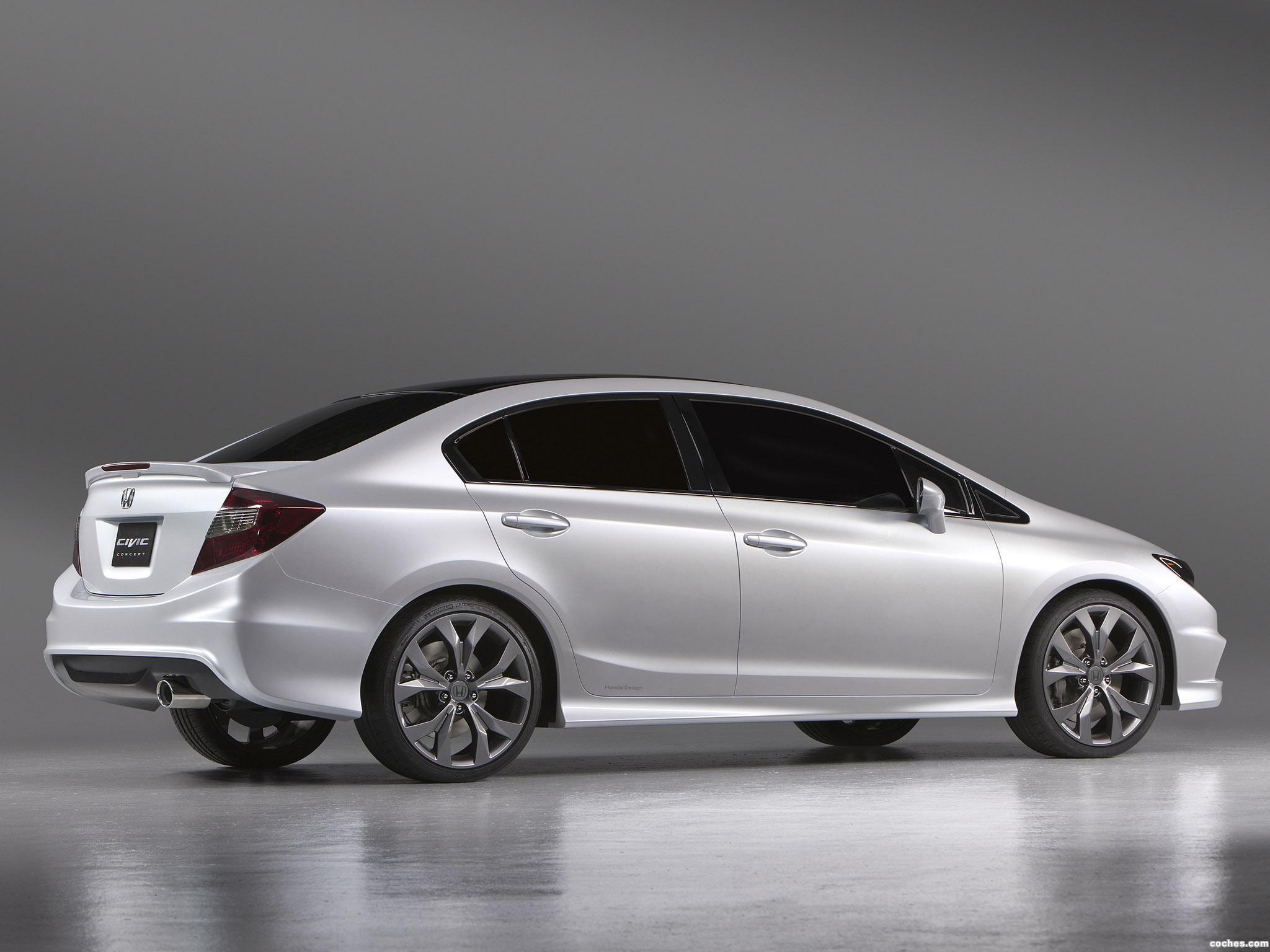 Foto 3 de Honda Civic Concept 2011