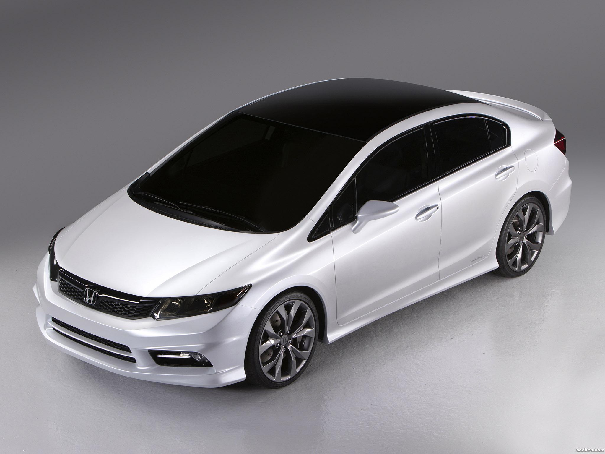 Foto 1 de Honda Civic Concept 2011