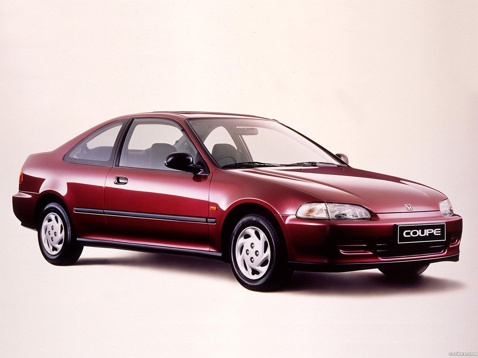 Foto 0 de Honda Civic Coupe 1993