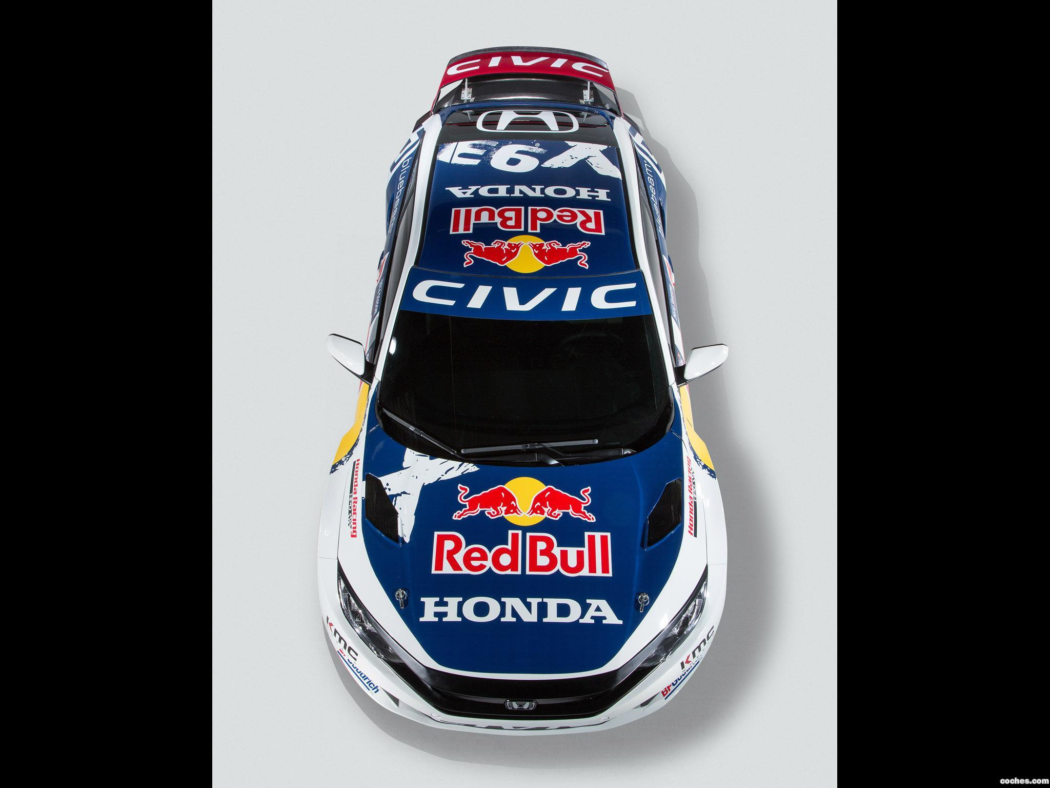 Foto 1 de Honda Civic Coupe Rallycross 2016
