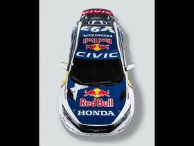 Ver foto 2 de Honda Civic Coupe Rallycross 2016
