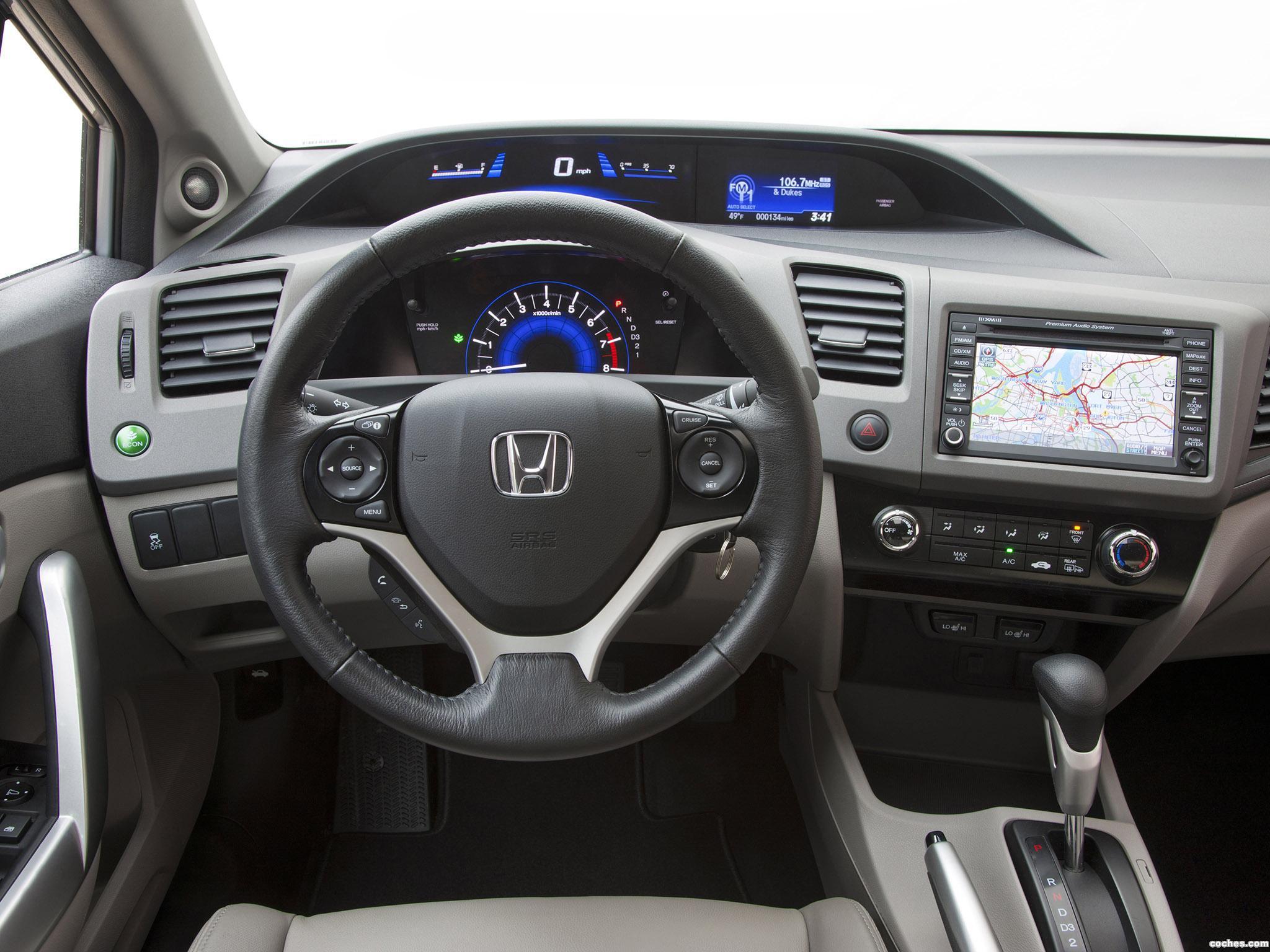 Foto 4 de Honda Civic EX-L Coupe 2011