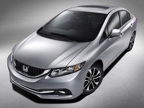 Fotos de Honda Civic EX-L USA 2013
