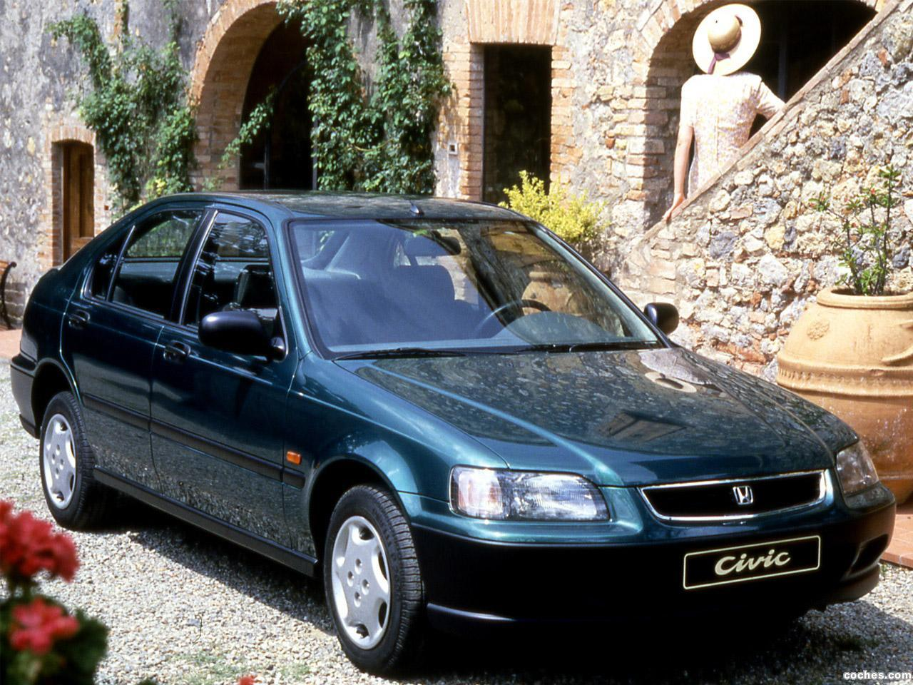 Foto 0 de Honda Civic Fastback 1994