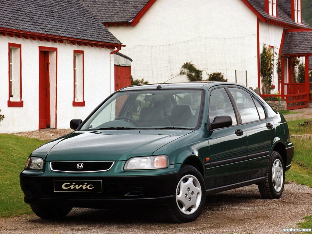 Foto 0 de Honda Civic Fastback UK 1994