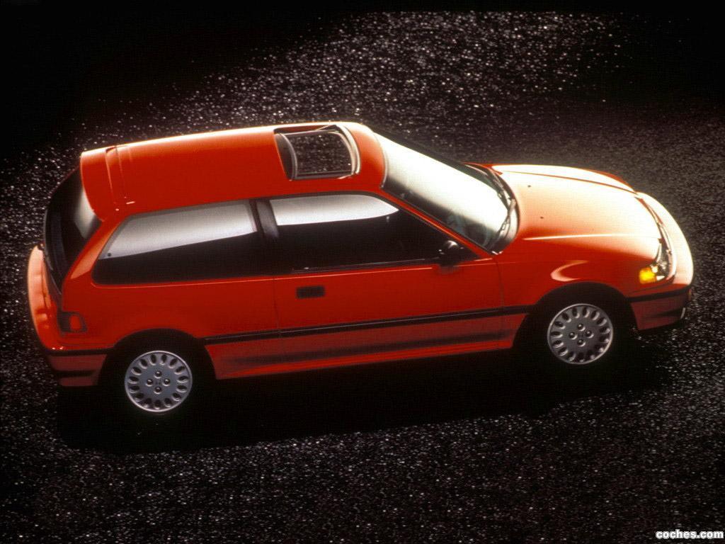 Foto 6 de Honda Civic Hatchback 1987