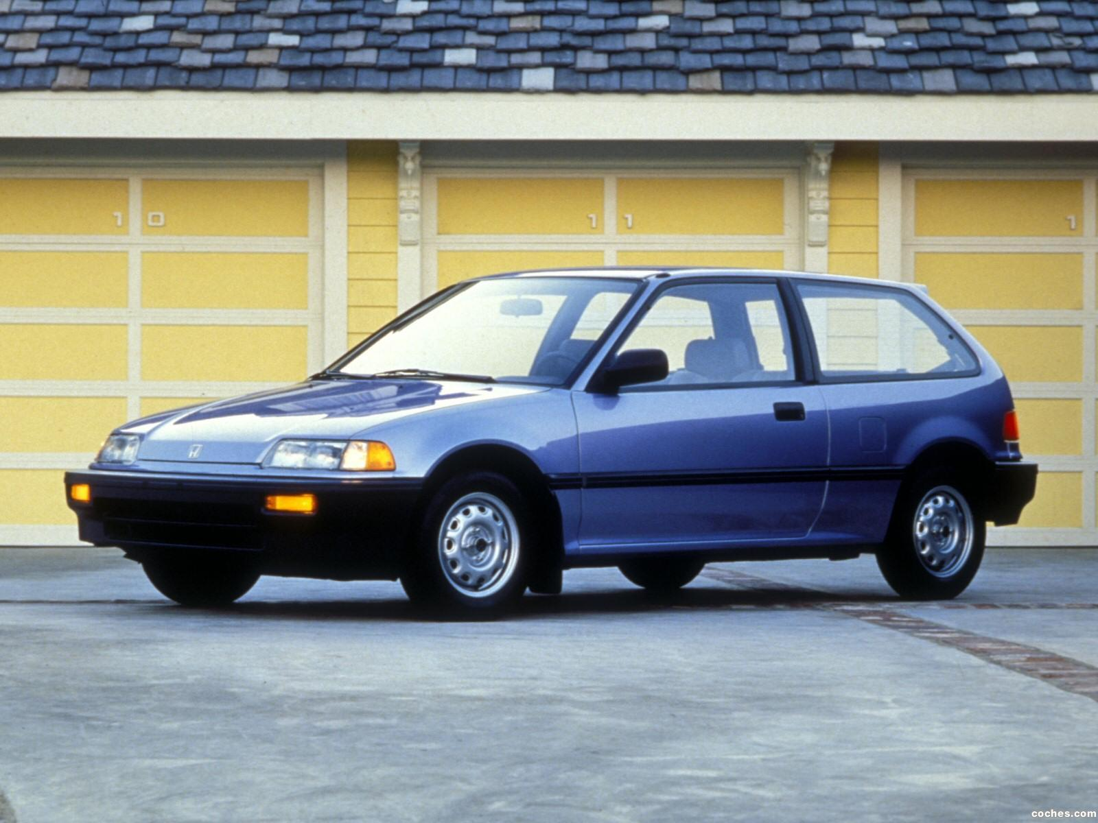 Foto 0 de Honda Civic Hatchback 1987