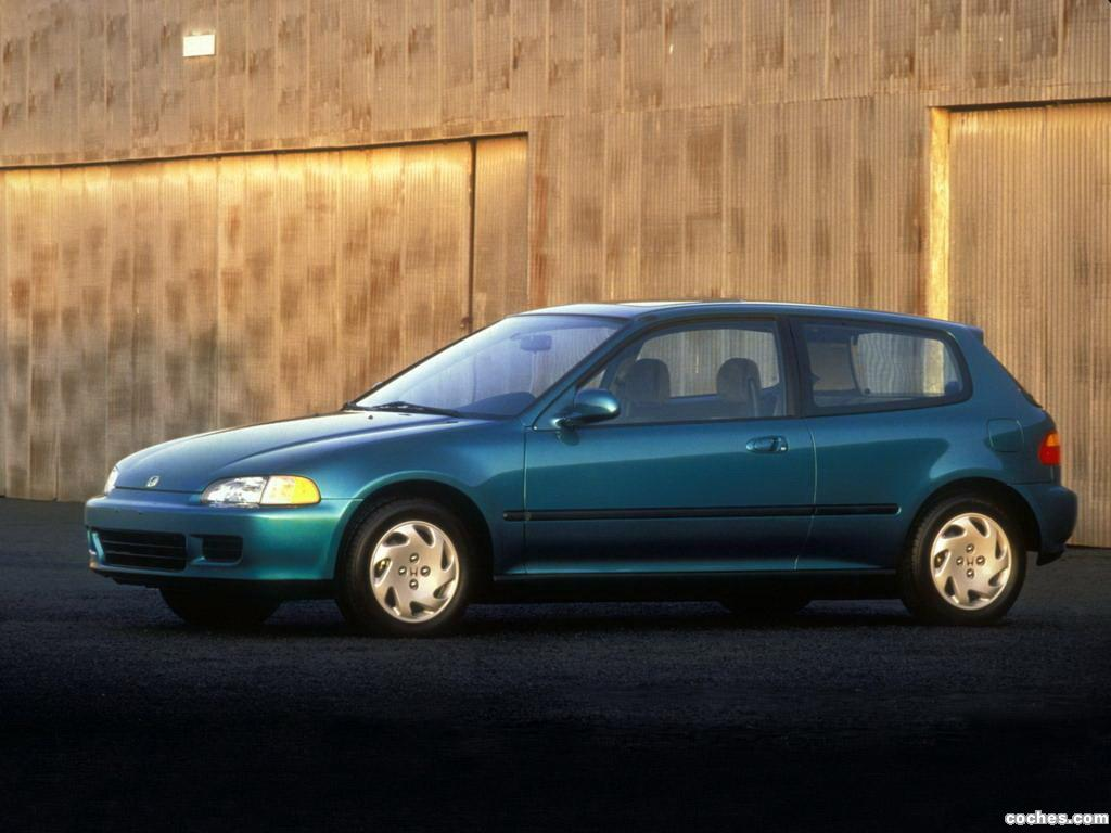 Foto 0 de Honda Civic Hatchback 1991
