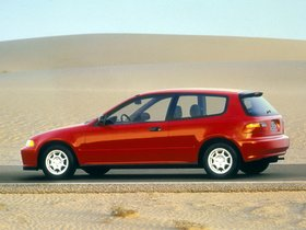 Ver foto 6 de Honda Civic Hatchback 1991